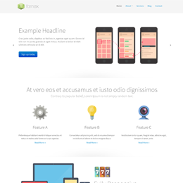 Fornax - Apps site template